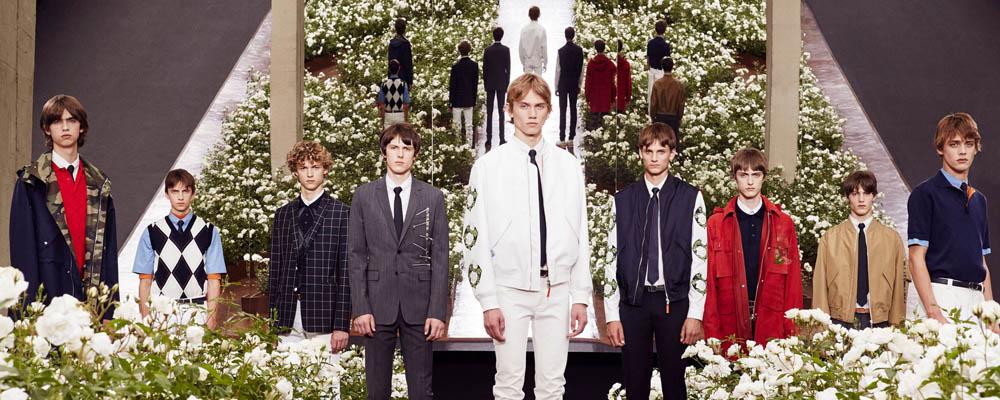 Мужская коллекция Dior Homme весна-лето 2016