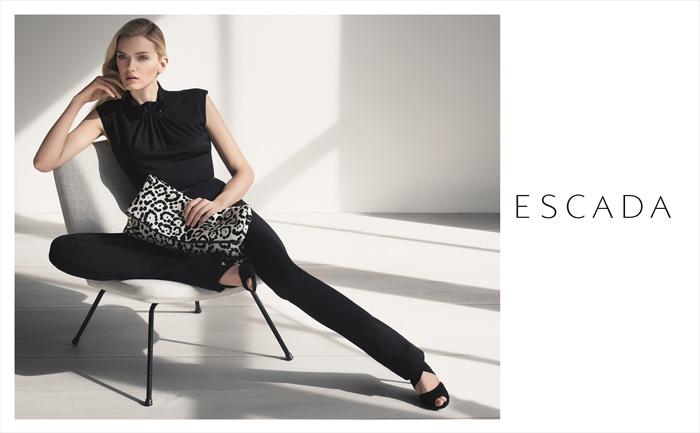 Рекламная кампании Escada