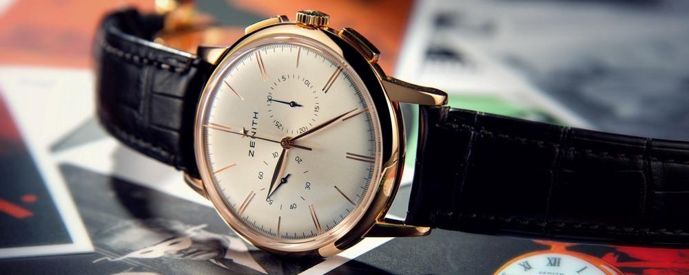Мануфактура Zenith представила новый хронограф Elite Classic