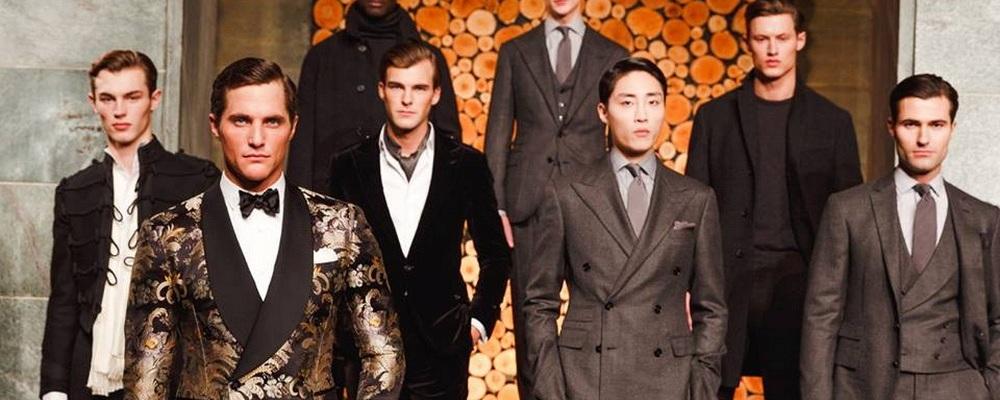Показ мужской коллекции Ralph Lauren в Милане