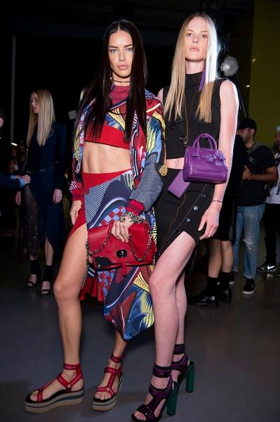 Сумки на подиумах Недели моды в Милане
