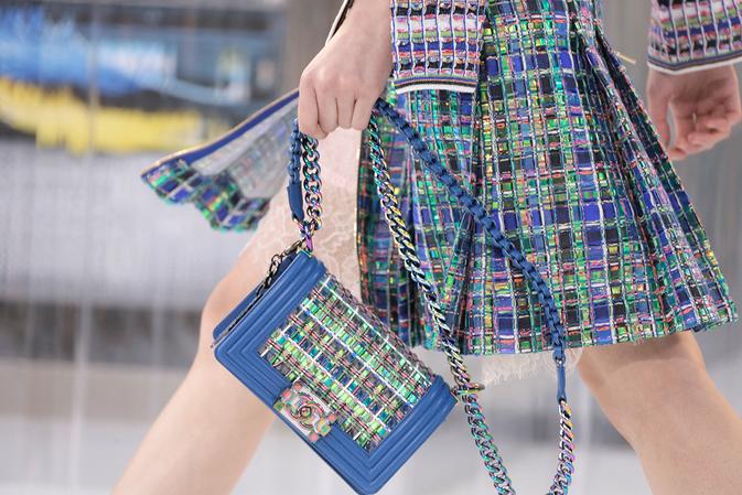 Сумки на неделе моды в Париже