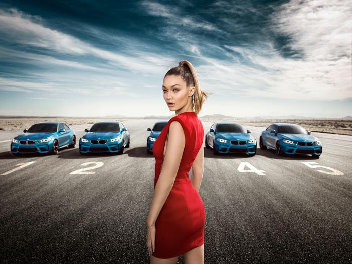 Супермодель Джиджи Хадид снялась в рекламе BMW