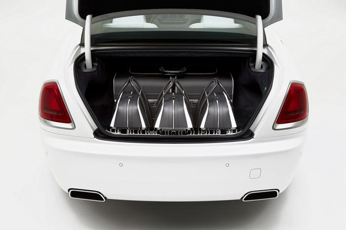 Коллекция дорожных сумок и чемоданов специально для владельцев Rolls-Royce