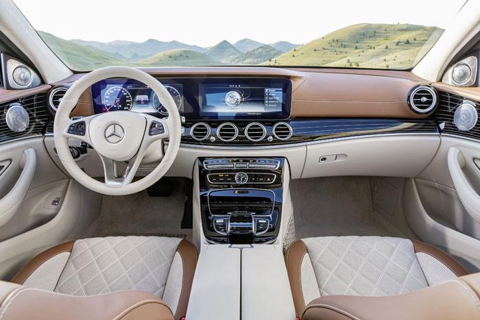 Новый Mercedes-Benz Е-Класса
