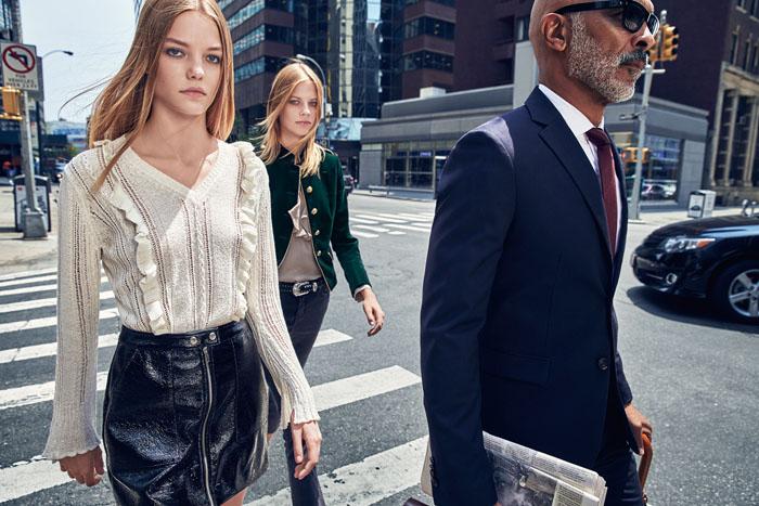 Модели Лекси Болинг и Рус Абельс стали лицами новой рекламной кампании Mango