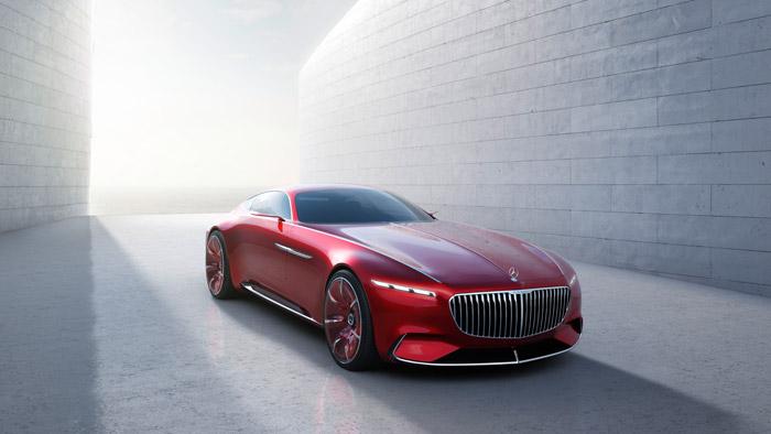 Абсолютная роскошь: концепт купе Vision Mercedes-Maybach 6