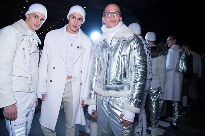 В Милане прошел показ мужской коллекции Versace