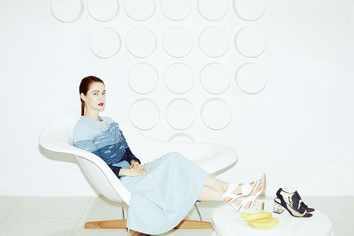 Коллекция  обуви и аксессуаров дизайнера Алены Ахмадуллиной  для «Эконики»