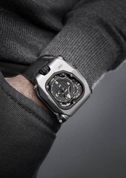 Часы Urwerk EMC Time Hunter