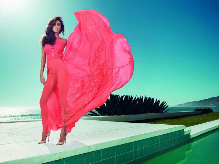 Рекламная кампания летней коллекции  Guess Marciano