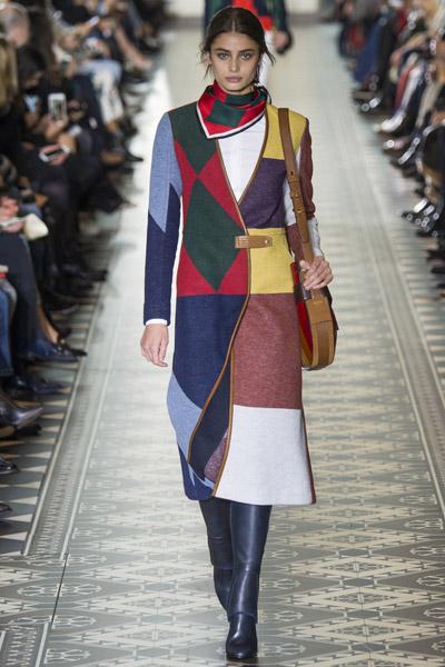 Показ Tory Burch на Неделе моды в Нью-Йорке