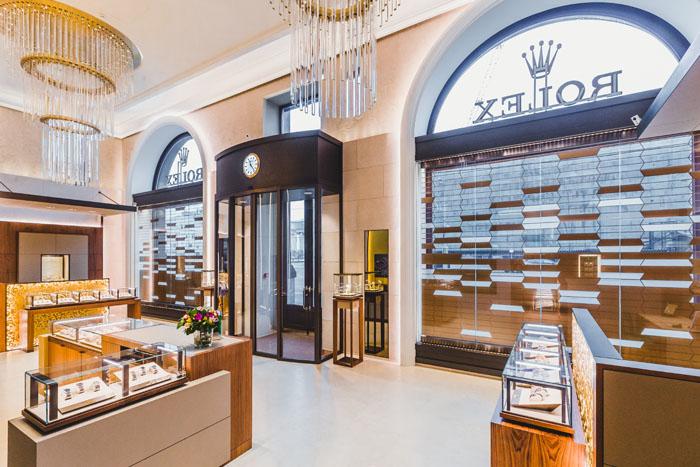 Новый бутик Rolex в гостинице «Метрополь»
