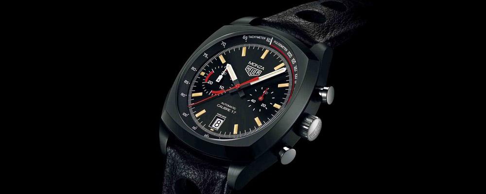 40 лет легендарной модели часов Heuer Monza швейцарского бренда TAG Heuer