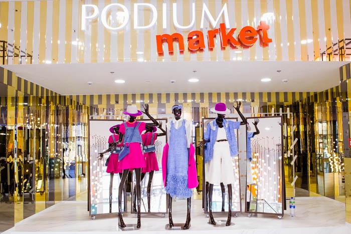 PODIUM market открылся в ТЦ Европейский