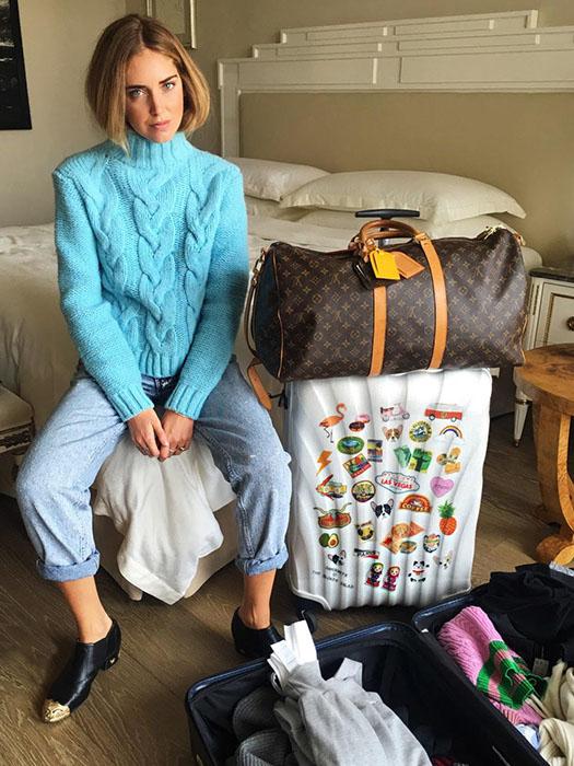 Лимитированная коллекция чемоданов Samsonite & Chiara Ferragni