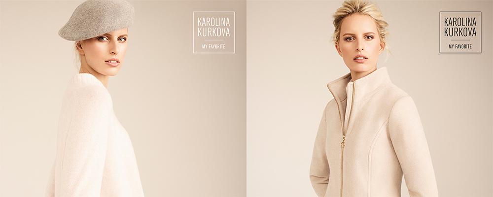 Каролина Куркова стала лицом осенне-зимнего лукбука s.Oliver BLACK LABEL