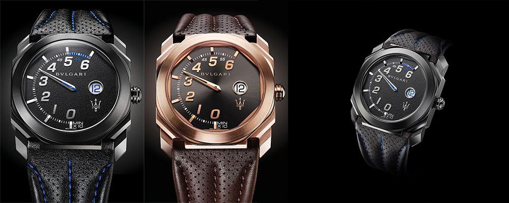 Новые часы BVLGARI Octo Maserati представлены на международном автосалоне во Франкфурте