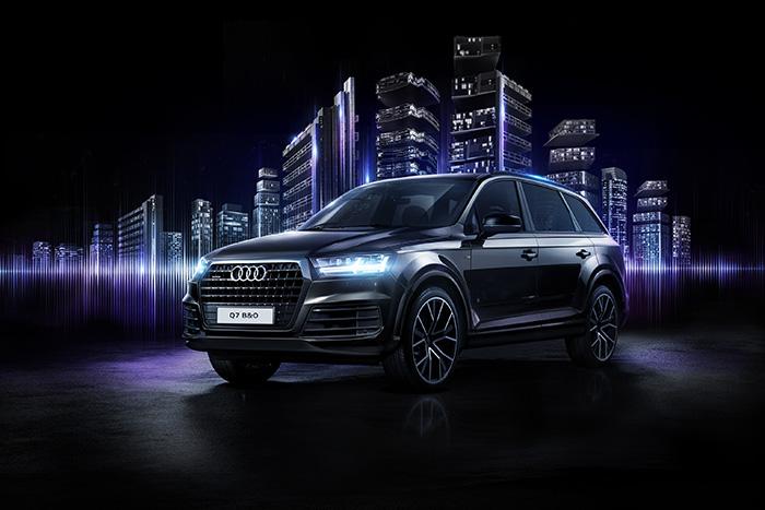 Audi Q7 Bang & Olufsen edition – эксклюзивный дизайн экстерьера и интерьера