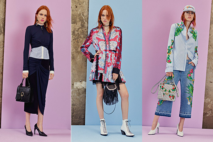 Коллекция Versace Pre- Spring 2018