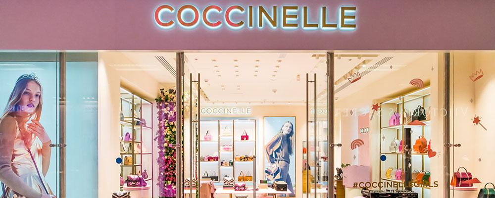 Открытие магазина Coccinelle в Европейском