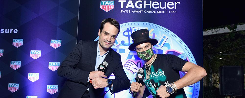 TAG Heuer на международной ярмарке Арт-Базель в Майами