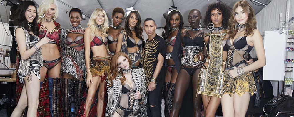 Коллекция VS x Balmain поступит в московские магазины Victorias Secret