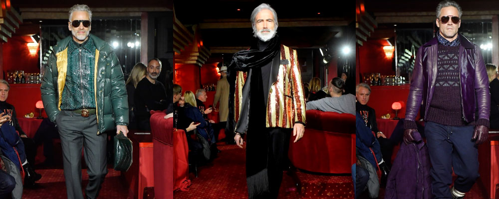 В Милане прошел показ мужской коллекции Billionaire