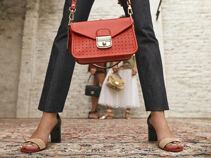 Обновленная версия модели сумки Mademoiselle Longchamp XS