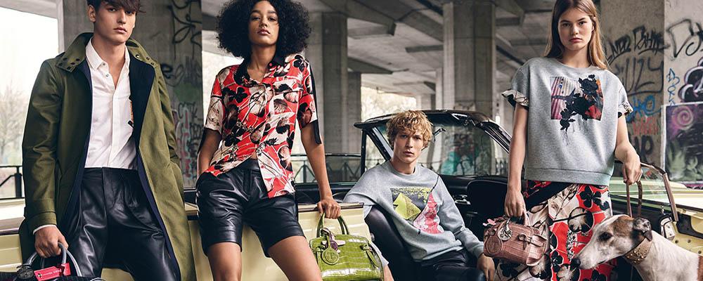 Рекламная кампания Trussardi весна-лето 2018