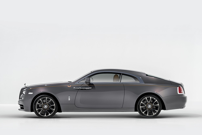 Rolls-Royce анонсирует эксклюзивную серию «Wraith Luminary Collection»