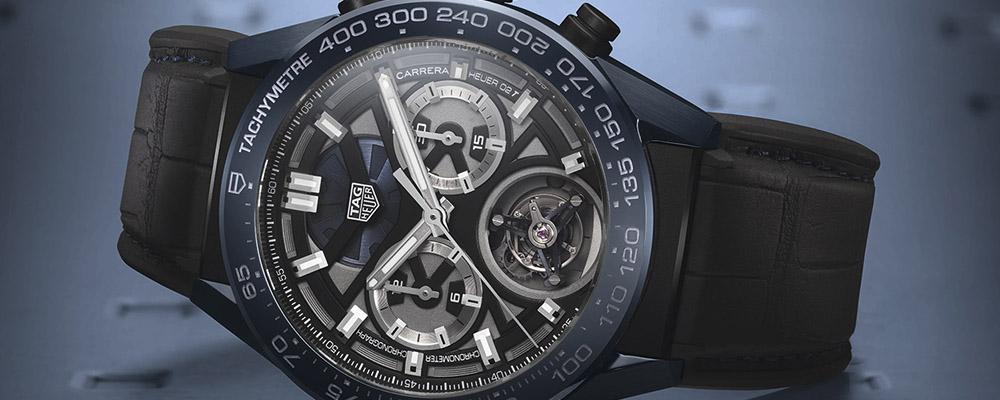 Ультрасовременная версия хронометра TAG Heuer Carrera Chronographe Tourbillon Chronometre