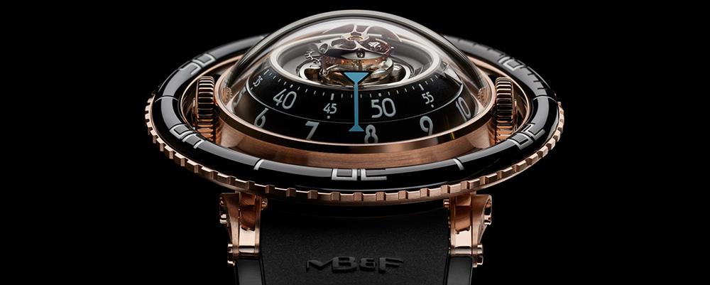 Модель MB&F HM7 Aquapod как «часы-медуза»