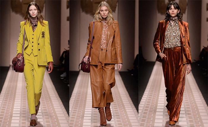 В Милане прошел показ новой женской коллекции Trussardi