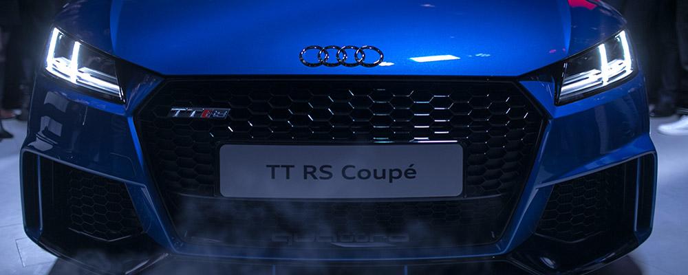 Премьера нового Audi TT RS