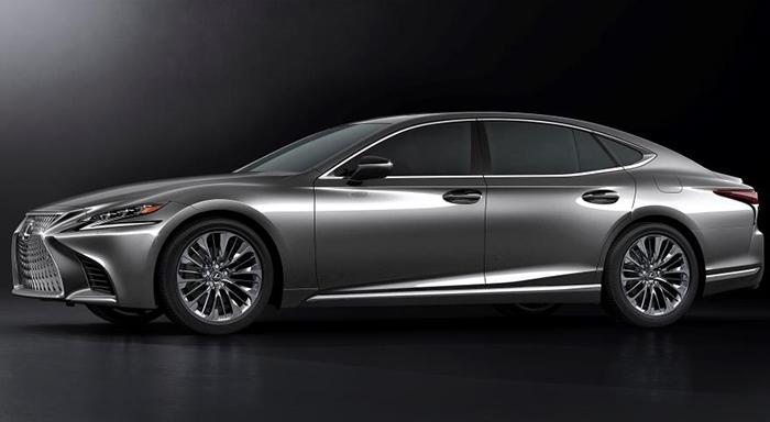Lexus представляет новый седан LS