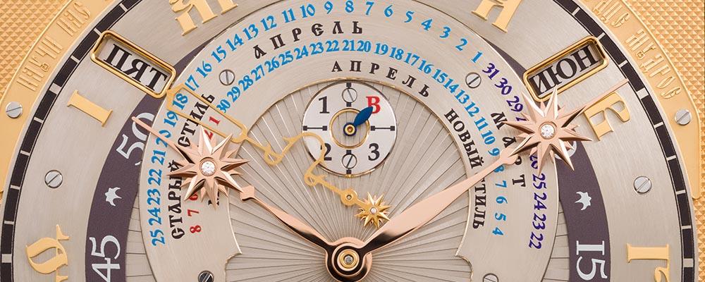 Константин Чайкин представит сверхсложные астрономические часы в Базеле