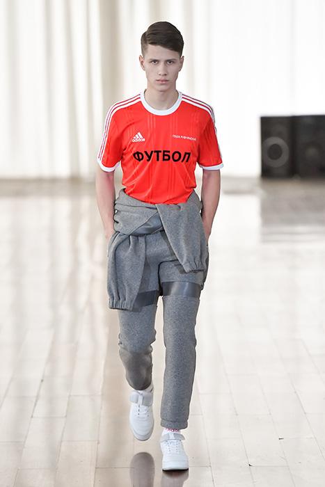 Новая коллаборация adidas Football x Gosha Rubchinskiy