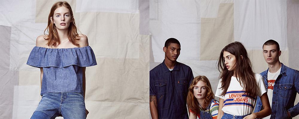 Винтажная джинсовая коллекция Levis ORANGE TAB