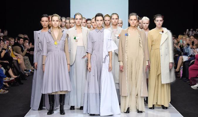 Показ Victoria Andreyanova в рамках Недели моды в Москве