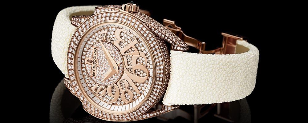 de GRISOGONO представляет новую коллекцию женских часов ECCENTRICA
