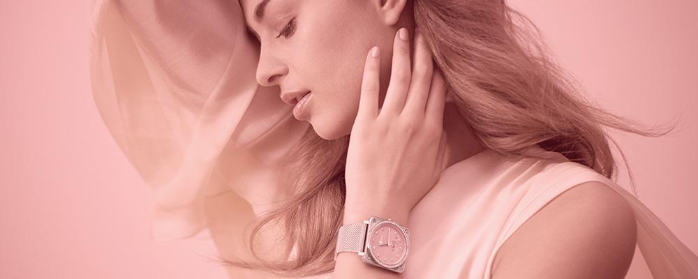 Часы Bell & Ross Novarosa вдохновлены розовым цветом сверхновых звёзд