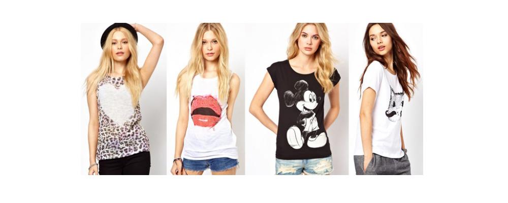Модные женские футболки: тренды 2017 года