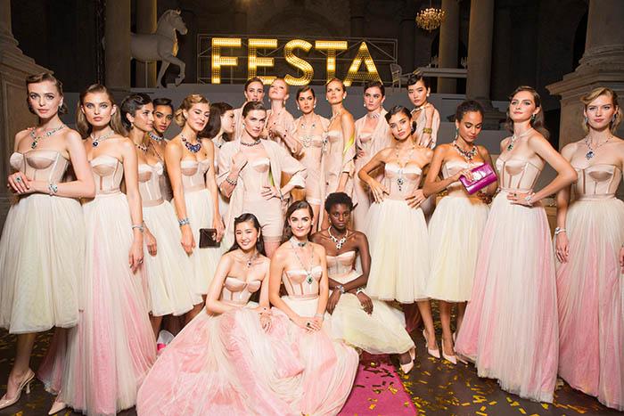 BVLGARI представил в Венеции новую коллекцию Festa