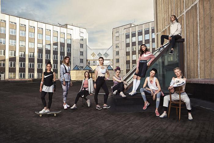 NIKE представляет рекламную кампанию «Поверь в большее»