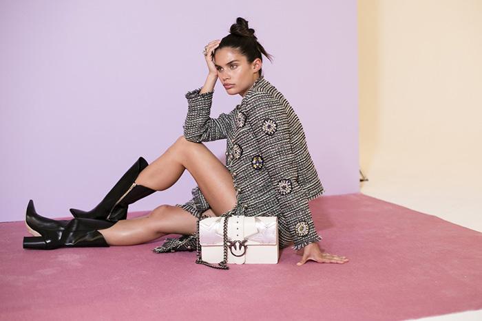 Сара Сампайо в рекламной кампании Pinko